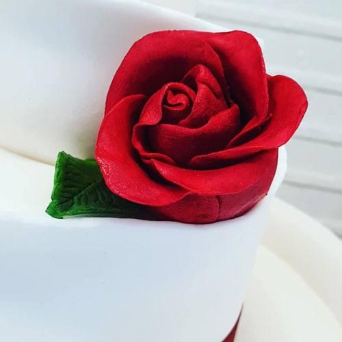 trouwtaart bloem